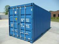 20ft self contained storage Containers available on the outskirts of soham