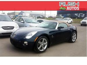 2008 Pontiac Solstice GXP Roadster ***260HP Turbo, Leather***