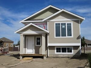 Brand new home almost ready!  #18 Westview Place in Taber