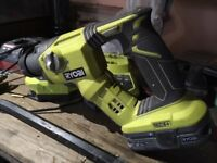 RYOBI 18V hammer drill OnePlus Li-Ion - Battery LithiumPlus 2.5Ah - Charger R18SDS-L25S