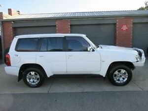 2005 Nissan Patrol GU IV ST (4x4) White 5 Speed Manual Wagon Holden Hill Tea Tree Gully Area Preview