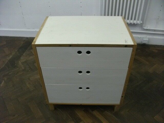 Chest of Drawers . Made of wood. Size : H=82cm , W=75cm , D=52cm
