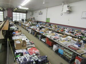 Returned Merchandise Online Auction Bidding Closes Feb 6 @ 6 pm