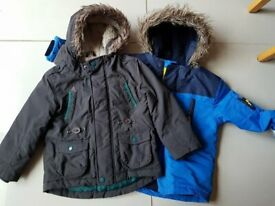 9c421529 2 children warm winter coats for boys aged 3-4 years Sainsburys Tu and aged