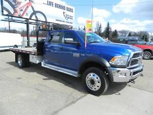 2014 dodge (4x4) 4500 /12ft deck only 39 000 kms