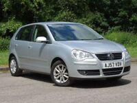 VOLKSWAGEN POLO 1.2 S 5d 59 BHP (silver) 2007