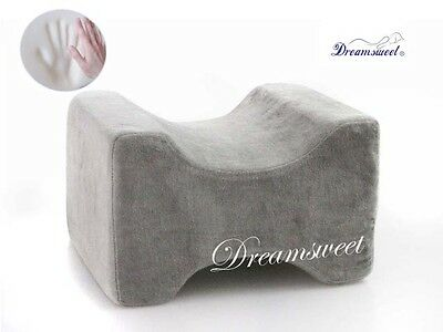 Knee Hip Alignment Memory Foam Leg Pillow Aid for Side Sleep