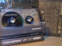 MEMOREX DB 60 (1993-1994) CASSETTE TAPES.
