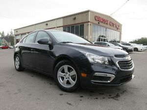 2016 Chevrolet Cruze LT2, LEATHER, ROOF, CAMERA, LOADED, 23K!