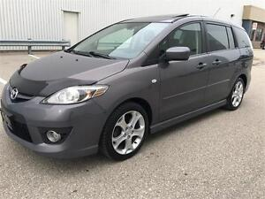 2008 Mazda MAZDA5 GT Sport Edition 5 Speed Manual with Sunroof.
