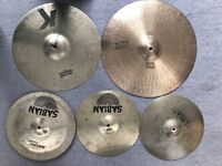 Cymbals for sale - various high quality will sell seperately