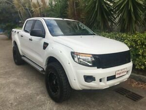 2012 Ford Ranger PX XL 2.2 Hi-Rider (4x2) White 6 Speed Automatic Crew Cab Pickup Bowen Hills Brisbane North East Preview