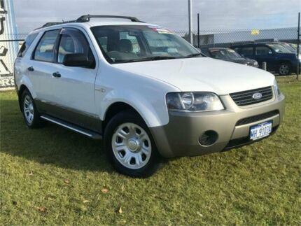 2007 Ford Territory SY TX (4x4) White 6 Speed Auto Seq Sportshift Wagon Wangara Wanneroo Area Preview