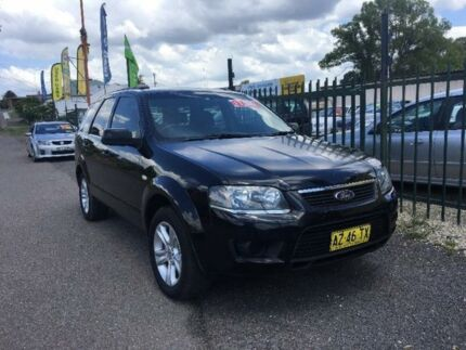 2009 Ford Territory SY Black Sports Automatic Wagon