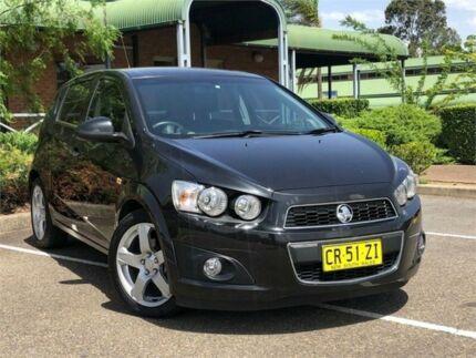 2013 Holden Barina TM MY13 CDX Black 6 Speed Automatic Hatchback Mount Druitt Blacktown Area Preview