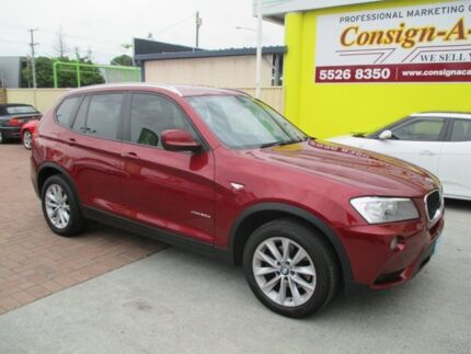 2014 BMW X3 F25 MY1213 xDrive20d Steptronic Red 8 Speed Automatic Wagon Bundall Gold Coast City Preview
