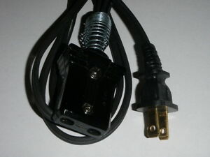 New-Power-Cord-for-vintage-Dominion-Waffle-Maker-Iron-Model-1208A-3-4 ...
