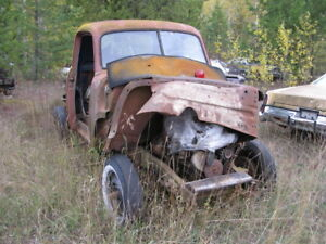 1949 CHEV 1/2 TON TRUCK.....selling as a parts truck