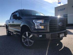 2015 Ford F-150 XLT SPORT 4x4 5.0L V8 with Navigation