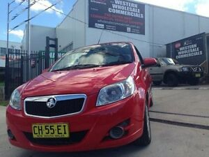 2010 Holden Barina TK MY11 GA Red 5 Speed Manual Hatchback St Marys Penrith Area Preview