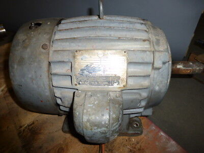 Us Electrical Motors 10 Hp 3 Phase 1740 Rpm Motor R-1192-01-169