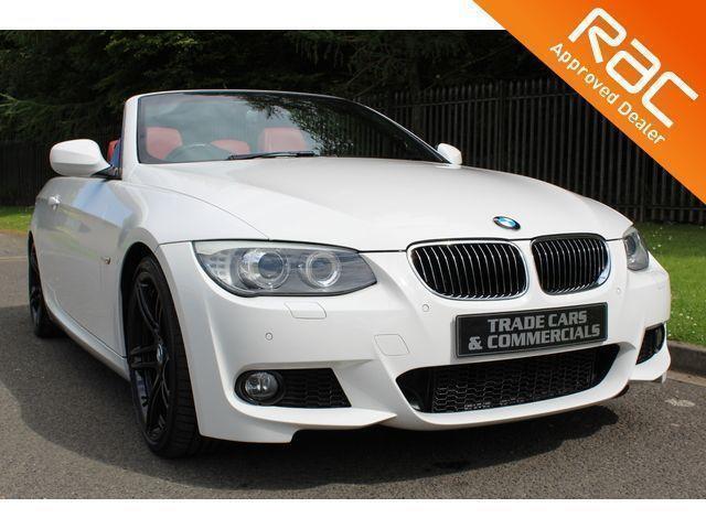 2011 02 BMW 3 SERIES 3.0 325D M SPORT 2D AUTO 202 BHP DIESEL