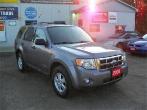 2008 Ford Escape XLT| MUST SEE| FOUR WHEEL DRIVE| 188KM