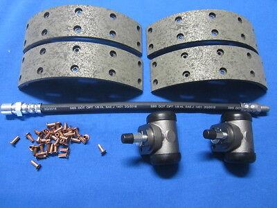 Bremsbeläge/Radbremszylinder/Bremsschlauch hinten Opel Rekord A P1/P2 AB FGST-Nr