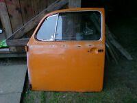 CLASSIC VW BEETLE PASSENGER DOOR, 1973, FIT 1968 BEETLE ONWARDS, BARGAIN- £20 contact 07763119188
