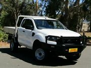 2016 Ford Ranger PX MkII XL Super Cab White 6 Speed Manual Cab Chassis Melrose Park Mitcham Area Preview