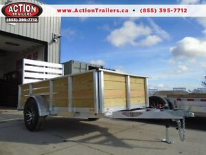 ULTIMATE UTILITY TRAILER - ALL ALUMINUM 5X10 HIGH SIDED PRO