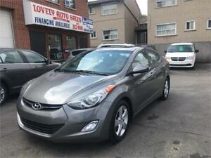 2013 Hyundai Elantra GLS, power sunroof,alloy rims