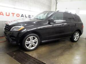 2015 Mercedes ML350 BlueTEC V6 4MATIC NAVI CUIR TOIT PANO CAMERA