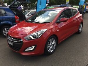 2013 Hyundai i30 GD SE Red 6 Speed Automatic Hatchback Campbelltown Campbelltown Area Preview