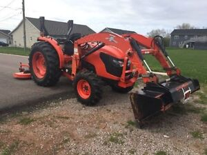 Kubota 5100 Tractor 4x4 and Loader