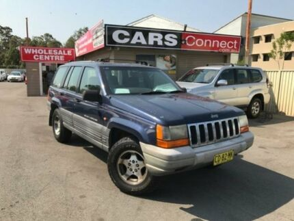 1998 Jeep Grand Cherokee XJ Laredo (4x4) Blue 4 Speed Automatic 4x4 Wagon