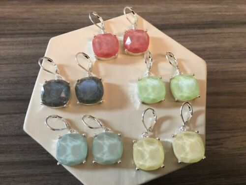 Joan Rivers Set of 5 Opal Leverback Earrings