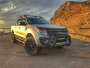 2015 Ford Ranger PX Wildtrak 3.2 (4x4) Silver 6 Speed Automatic Crew Cab Utility Islington Newcastle Area Preview