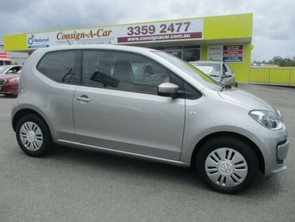 2012 Volkswagen UP! Type AA MY13 Silver 5 Speed Manual Hatchback Kedron Brisbane North East Preview
