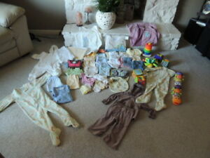 NEWBORN TO 18MONTHS LITTLE GIRLS CLOTHING
