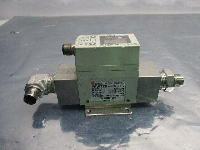 SMC PFW720-04-27 Digital Flow Switch, AMAT 0010-02051, PFW720-UIB990257, 453563