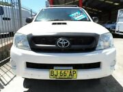 2010 Toyota Hilux KUN26R MY11 Upgrade SR (4x4) White 4 Speed Automatic Dual Cab Pick-up Rockdale Rockdale Area Preview