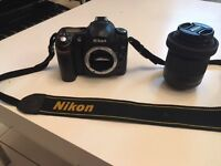 DSLR D50 Nikon with 18-55 mm lens with battery and charger