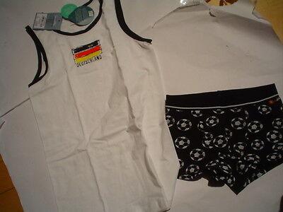 FOOTBALL sous-vêtements, blanc de Sanetta taille gr.128-152