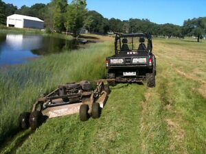 Wanted: Tow behind brush mower