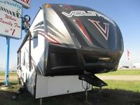 New 2016 Voltage 3005 Toy Hauler Fifth Wheel