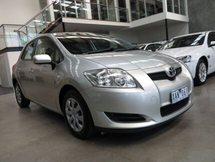 2009 Toyota Corolla ZRE152R Ascent Sterling Silver 4 Speed Automatic Hatchback Essendon Moonee Valley Preview
