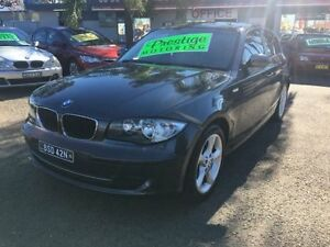 2008 BMW 120I E87 MY07 Upgrade Grey 6 Speed Automatic Hatchback Lansvale Liverpool Area Preview