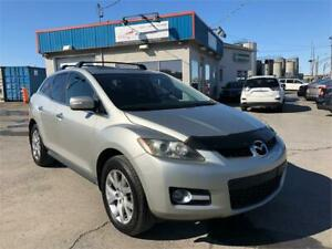 MAZDA CX-7 GT 2009 AWD/ CUIR/ TOIT OUVRANT/ BLUETOOTH/ FULL !!!