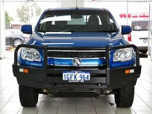 2014 Holden Colorado RG MY14 LX (4x4) Blue 6 Speed Manual Crew Cab P/Up Morley Bayswater Area Preview